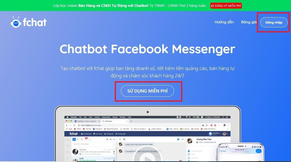 chatbot fchat